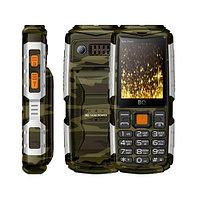 BQ 2430 Tank Power Camouflage Silver мобильный телефон (BQ-2430 Камуфляж+Серебро)