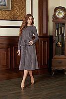 Женское осеннее трикотажное платье Bazalini 3680 48р.