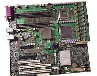 Материнская плата Dell 0TW856 Poweredge SC1430 LGA771 System Board