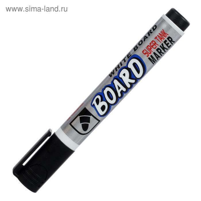 Маркер для доски 3.0 мм Crown Multi Board CBM-1000 черный - фото 3