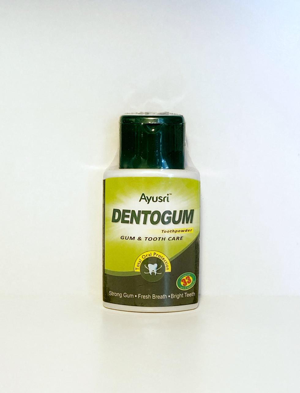 Аюрведический зубной порошок для чистки зубов и массажа дёсен, 40 гр, Ayusri