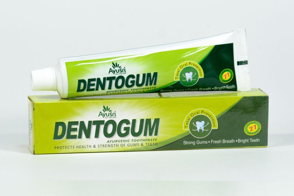 Aюрведическая зубная паста Дентогам 100 гр