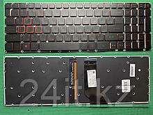 Клавиатура для Acer Nitro 5 AN515-31 черная с подсветкой