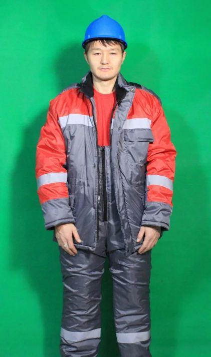 Спецодежда - зимний рабочий костюм утепленный в Алматы