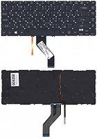 Клавиатура для ноутбука Acer Aspire V5-471/ V5-431/ M5-481, RU, подсветка, черная