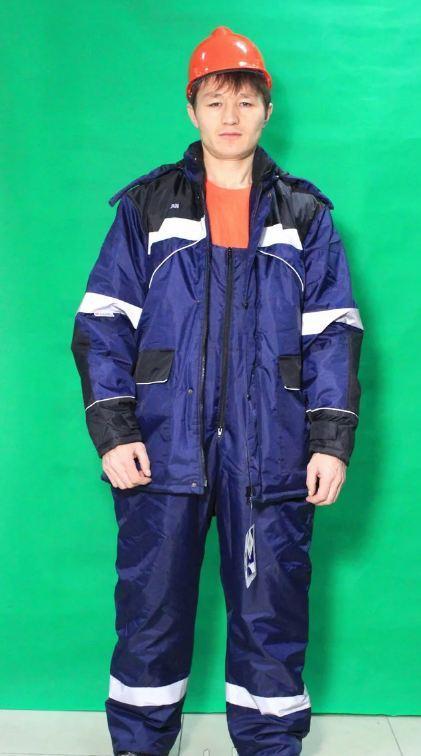Костюмы, куртки рабочие зимние утепленные в Алматы
