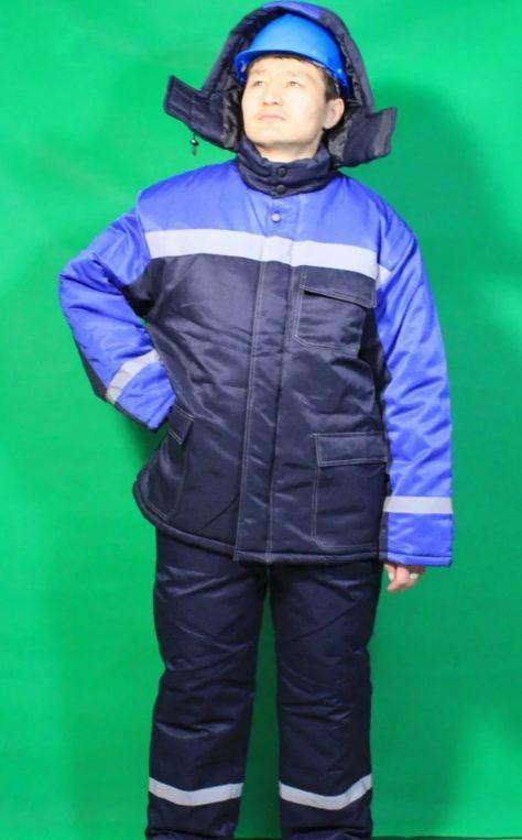 Костюм зимний мужской Тулпар синий в Алматы