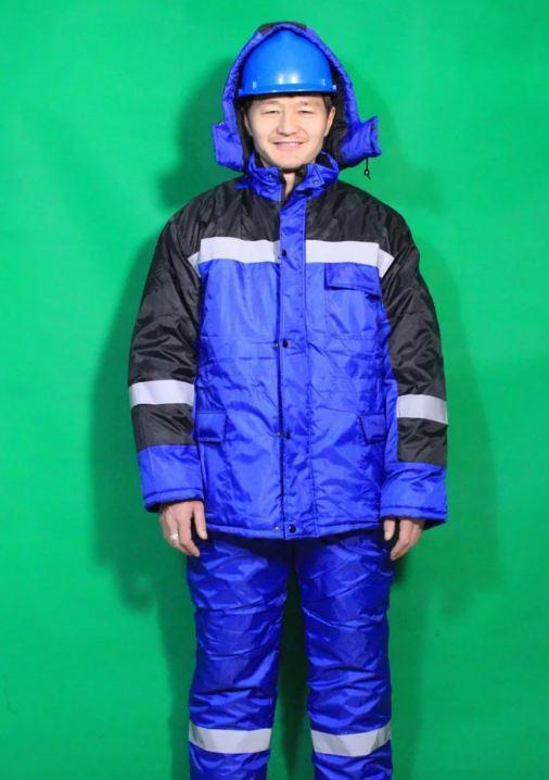 Зимний рабочий костюм мужской ОЙЛ в Алматы