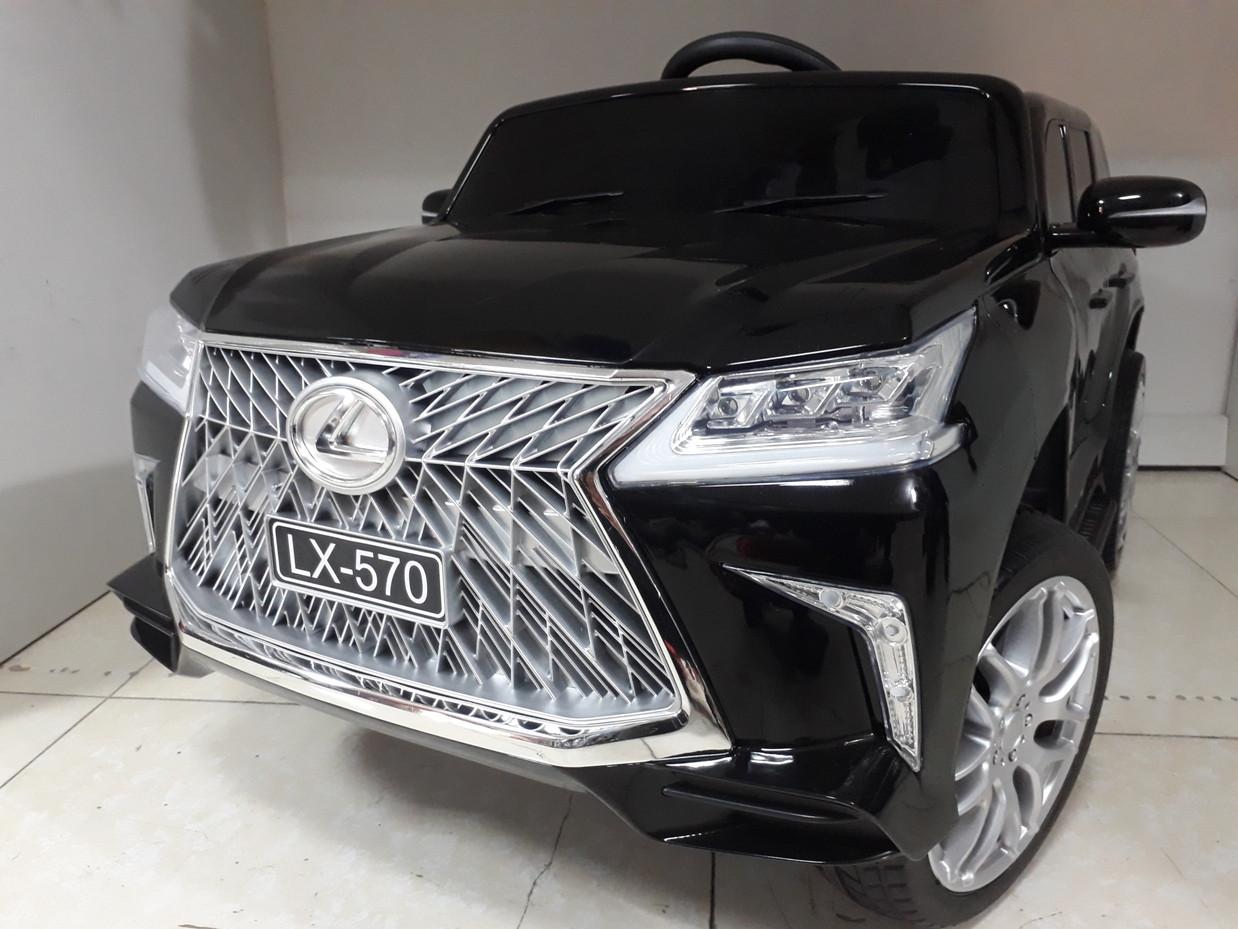 Оригинальный электромобиль Lexus LX 570 Black. Остерегайтесь подделок!