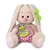 Мягкая игрушка Зайка Ми с лягушонком 15 см