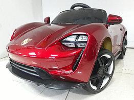 Оригинальный электромобиль Porsche Taycan S Red. Остерегайтесь подделок!