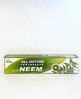 Зубная паста с Нимом, на травяной основе, без фтора, 100 гр, Ayusri