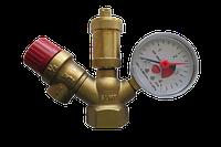 Группа безопасности для котла и систем отопления SLMF