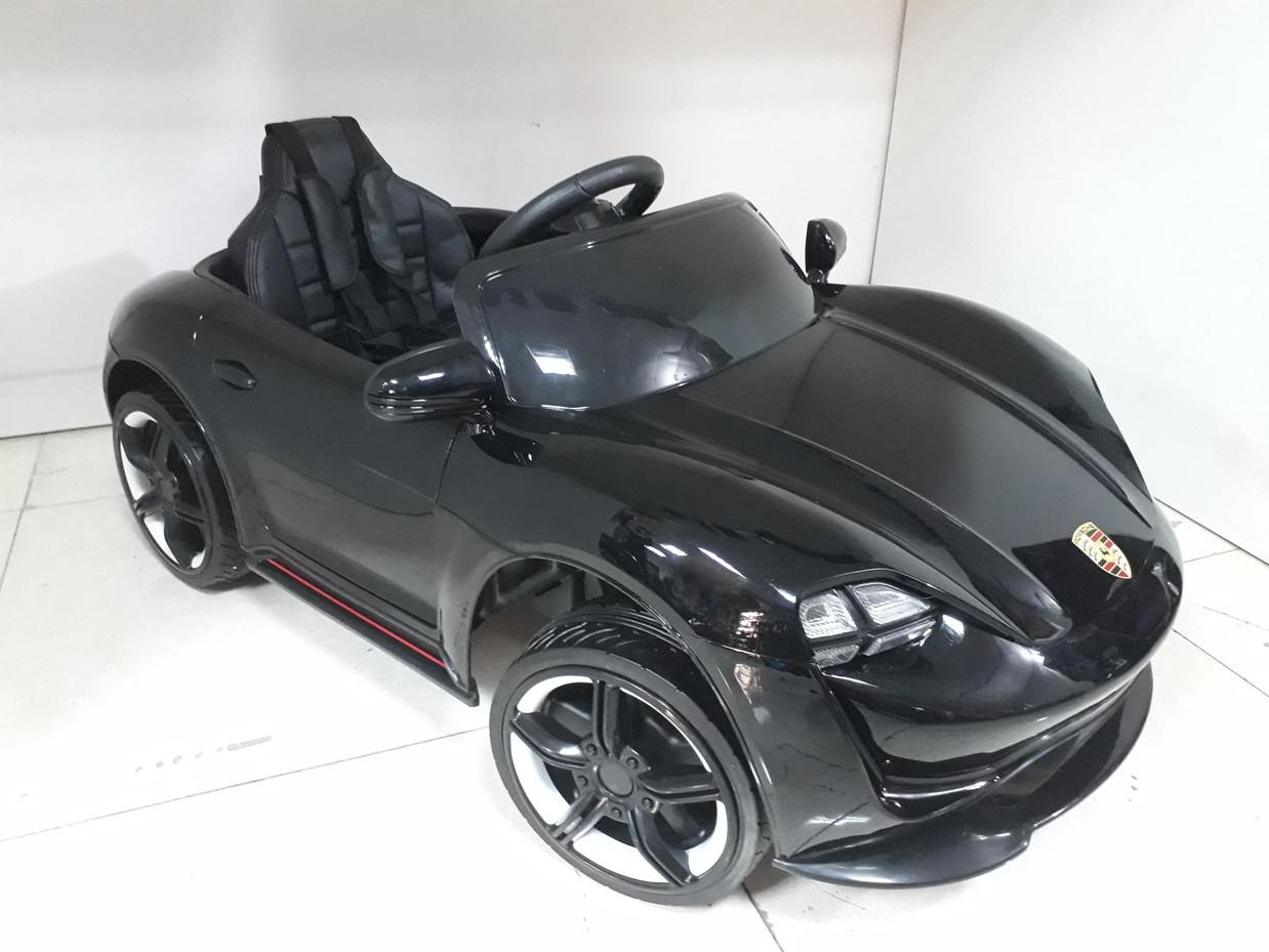Оригинальный электромобиль Porsche Taycan S Black. Остерегайтесь подделок!