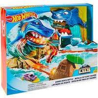 Игровой набор Hot Wheels Сити - Схватка с акулой