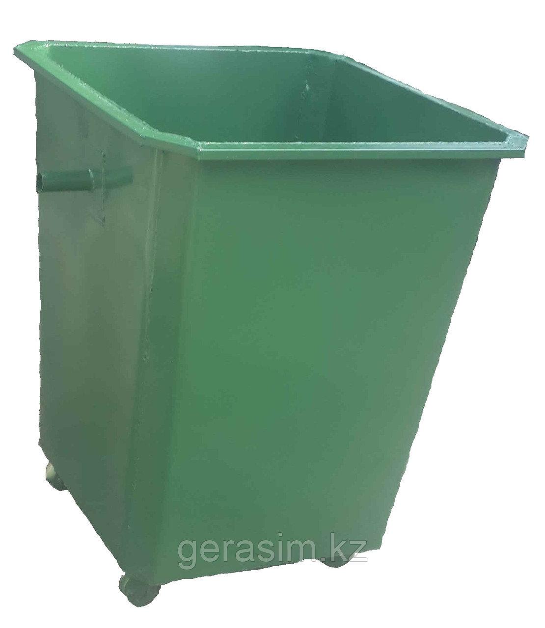 Мусорные контейнеры 0,75 куб. для задней погрузки на колесах (НДС 12% в т.ч.)