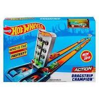 Набор Hot Wheels Action Соревнования за кубок Чемпиона Dragstrip (GBF81/GBF82)
