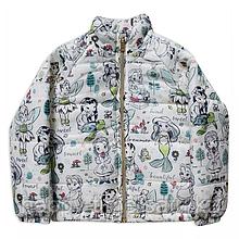Демисезонная куртка для девочек с принцессами Disney Animators'