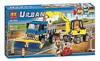 Конструктор Bela Urban Уборочная техника 10651 (Аналог Lego City 60152)