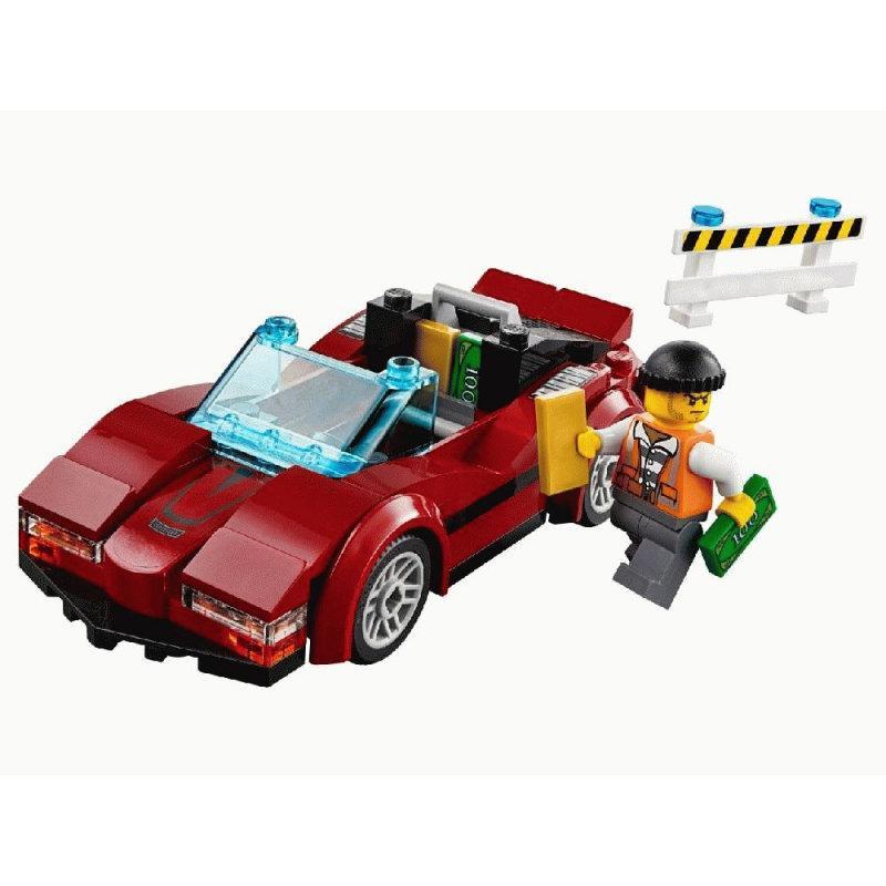 Конструктор BELA Cities Стремительная погоня 10656 (Аналог LEGO City 60138) 318 дет - фото 2