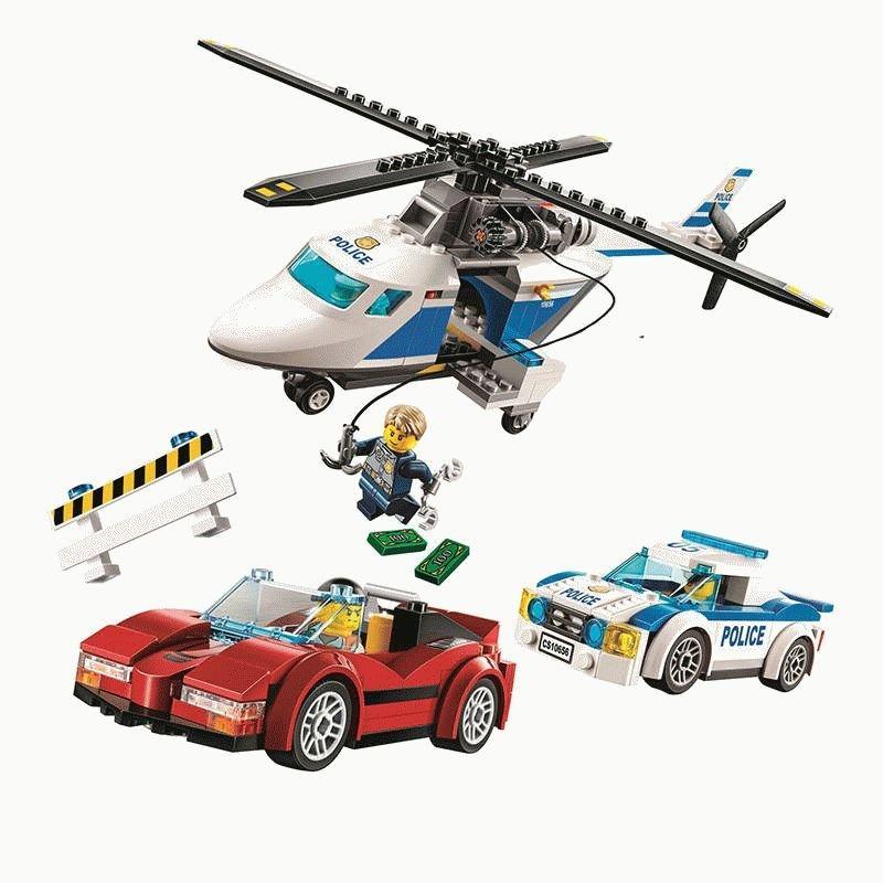 Конструктор BELA Cities Стремительная погоня 10656 (Аналог LEGO City 60138) 318 дет - фото 4