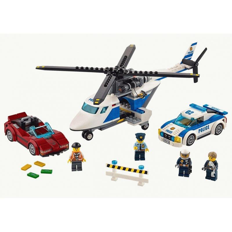 Конструктор BELA Cities Стремительная погоня 10656 (Аналог LEGO City 60138) 318 дет - фото 5