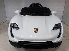 Оригинальный электромобиль Porsche Taycan S mini White. Остерегайтесь подделок!