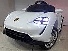Оригинальный электромобиль Porsche Taycan S mini White. Остерегайтесь подделок!, фото 2