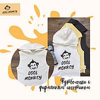 Детские футболочки с фирменным логотипом Cool Monkey