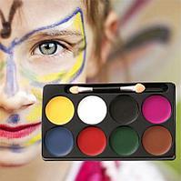 Аквагрим Face Paints, краски для лица (6 цветов), Алматы