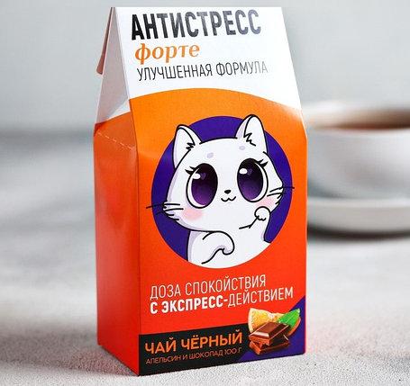 Чай чёрный «Антистресс»: с ароматом апельсина и шоколада, 100 г, фото 2