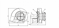 Вентилятор ВД-3,5/1500