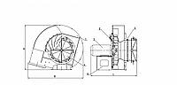 Вентилятор ВДН-6,3/1000