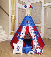 Детский вигвам Captain America, фото 1
