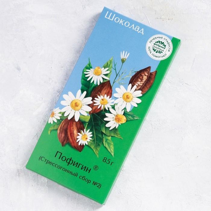 Шоколад молочный «Пофигин»: 85 г