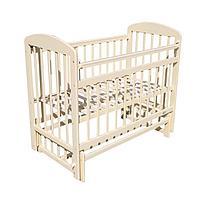 Кровать детская МОЙ МАЛЫШ 09 маятник универсальный с накладкой Слоновая.кость