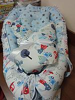 Кокон для новорожденных Машинка