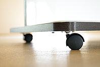 Мобильная стекло-маркерная доска 1000*1700мм, ASKELL Mobile на колесах (модель 2020), фото 4