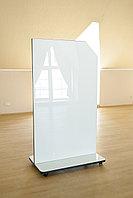 Мобильная стекло-маркерная доска 1000*1700мм, ASKELL Mobile на колесах (модель 2020), фото 3