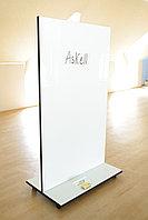 Мобильная стекло-маркерная доска 1700*1250мм, ASKELL Mobile на колесах (модель 2020), фото 3