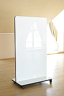 Мобильная стекло-маркерная доска 1000*1700мм, ASKELL Mobile Premium на колесах (модель 2020), фото 8