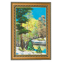 """Картина """"Весенний пейзаж"""" багет 24х34 см, каменная крошка"""