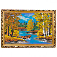 "Картина ""Осень"" багет 40х60 см, каменная крошка"