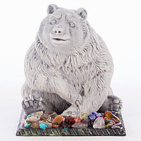 "Сувенир ""Медведь сидит"" из мрамолита"
