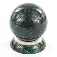 Шар из темно-зеленого змеевика Антистресс 8,5 см