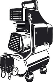 Компрессор воздушн. 200 л/мин, 6 л, ЗУБР 1500 Вт,  безмасляный (КП-200-6 )