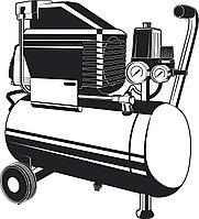 Компрессор воздушный 200 л/мин, 24 л, ЗУБР 1500 Вт, поршневой, безмасляный (КП-200-24 )
