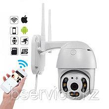Видеокамера IP WiFi P2P уличная поворотная 2.0Мр