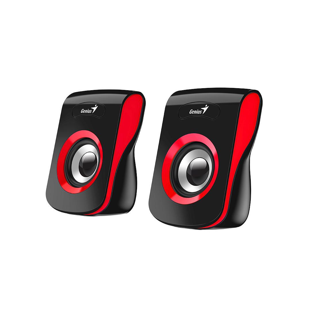 Колонки Genius SP-Q180 6Вт USB Длина кабеля 15м Красный