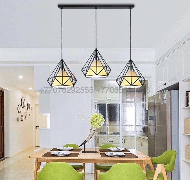 Потолочный светильник в стиле Лофт черный